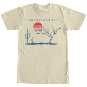 Retro Vintage Cotton Coachella Valley Graphic Tee