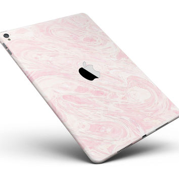 "Pink Slate Marble Surface V43 Full Body Skin for the iPad Pro (12.9"" or 9.7"" available)"