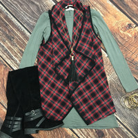 Playing in Plaid Vest