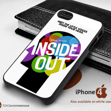 Inside Out Meet The Little Voice Inside Your Head for iPhone 4/4S, iPhone 5/5S, iPhone 6, iPod 4, iPod 5, Samsung Galaxy Note 3, Galaxy Note 4, Galaxy S3, Galaxy S4, Galaxy S5, Galaxy S6, Phone Case