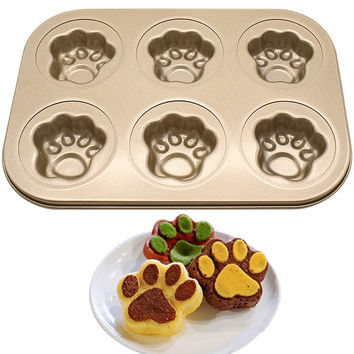 KCASA KC-BK10 Multifunction Baking Pan Dish Nonstick Stainless Steel Cake Mold DIY Donut Bakeware