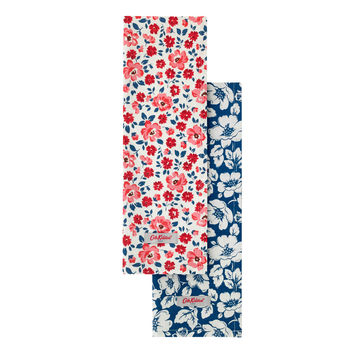 Island Flowers Set of 2 Tea Towels | View All | CathKidston