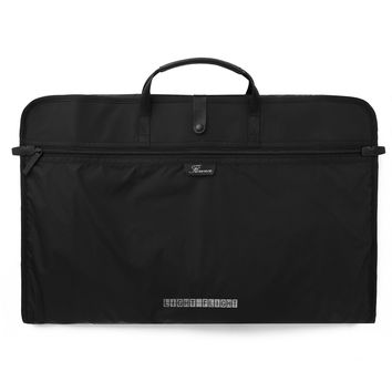LIGHT FLIGHT • Florence • Lightweight Nylon Foldable Clothing Organizer Garment Bag for Suits, Dresses and Shirts