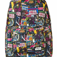 Star Wars Color Comic Print Backpack by Loungefly (Black)