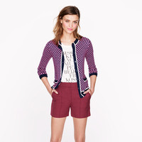 Collection pintucked short - j.crew collection - Women's shorts - J.Crew