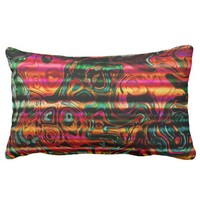 Multicolor Throw Pillow. Magnificent Pattern