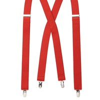 Levi's Solid Suspenders - Men, Size: One Size (Red)