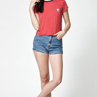 LA Hearts LB Swim Club Stripe Short Sleeve T-Shirt at PacSun.com