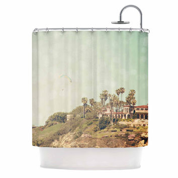 "Sylvia Coomes ""West Coast 1"" Coastal Photography Shower Curtain"