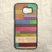Wood Panel Samsung Galaxy S6 Case