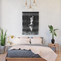 Art Deco Man - Sin City Style Wall Hanging by gx9designs