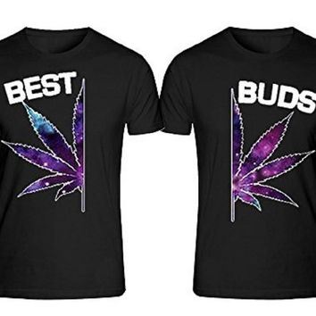 BEST BUDS T-shirts + Your NAMES or another text on the back