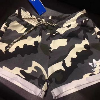 Adidas Women Camouflage Running Shorts