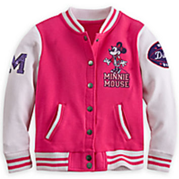Minnie Mouse Varsity Jacket for Girls - Walt Disney World