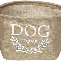 Eco- Friendly Dog Toy Storage Bin