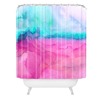 Jacqueline Maldonado Tidal Color Shower Curtain