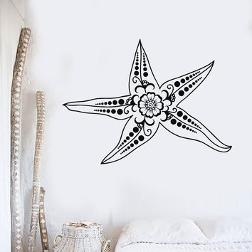 Vinyl Wall Decal Starfish Marine Animal Ocean Style Room Stickers Unique Gift (ig4120)