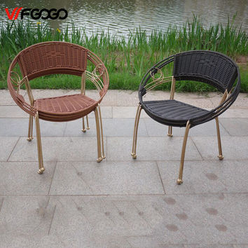 All Weather Outdoor Rattan Patio Garden Chairs