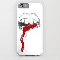 Kiss Me iPhone & iPod Case by Katie Cozzi