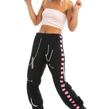 Vintage Y2K Does 80's Rhythm Nation Joggers - S/M