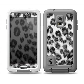 The Real Snow Leopard Hide Skin for the Samsung Galaxy S5 frē LifeProof Case