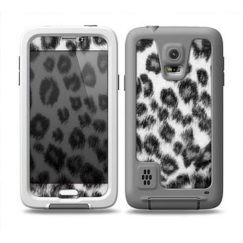 The Real Snow Leopard Hide Skin Samsung Galaxy S5 frē LifeProof Case