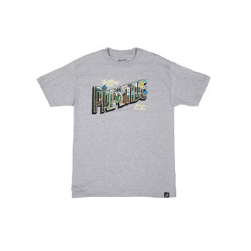 WISH TEE - HEATHER GREY