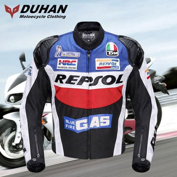 2016 Winter DUHAN Motocross motorcycle jacket D-VS03 Motorbike Riding clothing Jackets Locomotive Knight equipment clothes