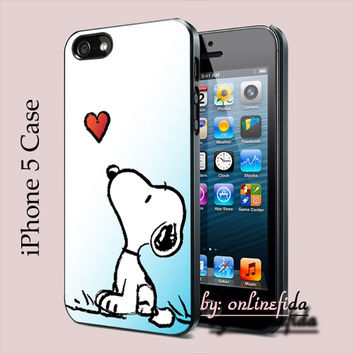 Snoopy for iPhone 5 Case,iPhone cover