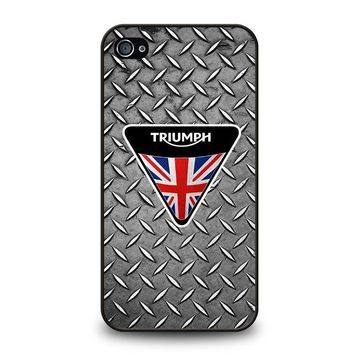 LOGO TRIUMPH MOTORCYCLE iPhone 4 / 4S Case Cover