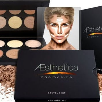 Professional Highlighting Foundation Palette Contouring Makeup Kit