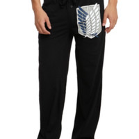 Attack On Titan Scouting Legion Shield Guys Pajama Pants