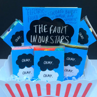 The Fault in our Stars Favors - Okay Okay Tissue Packs set of 3