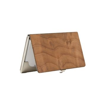 Woodchuck Premium Wood Business Card Holder