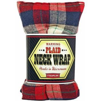 Warming Plaid Neck Wrap