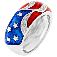 Patriotic Flag Ring