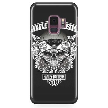 Harley Davidson Eagle Burn Samsung Galaxy S9 Plus Case | Casefantasy
