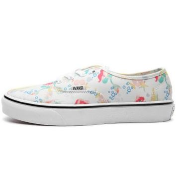 Vans Classic Canvas Leisure Shoes print H-CSXY