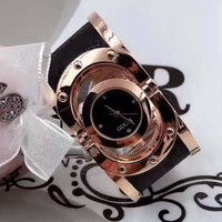 GUCCI Women Fashion Quartz Movement Bracelet Watch WristWatch