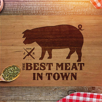 Funny Cutting Board - Housewarming - Thanksgiving - Christmas Gift - Engraved Cutting Boards - Unique Personalized Best Gifts - CB212