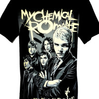 My Chemical Romance T Shirt Size S M L - Rock Band Music Heavy Metal