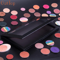 OutTop New Arrival Empty Magnetic Palette Makeup Palette Pad Black Large Pattern DIY Palette New Portable Makeup 2017 June7