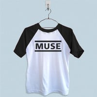 Raglan T-Shirt - Muse Band Logo