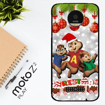 Alvin And The Chipmunks And The Chipettes D0268 Motorola Moto Z2 Play Case