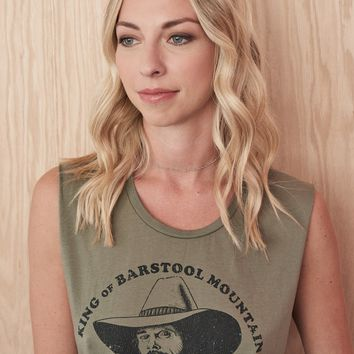 Barstool Mountain Johnny Paycheck Muscle Tee