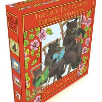 The Folk Tale Classics Keepsake Collection: The Little Red Hen, the Town Mouse and the Country Mouse, Three Little Kittens, the Three Bears (Folk Tale Classics)