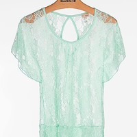 Daytrip Lace Top - Women's Shirts/Tops | Buckle