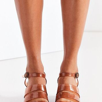 Jelly Quarterstrap Heel   Urban Outfitters