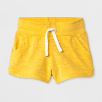 Toddler Girls' Trouser Shorts - Cat & Jack™ Yellow Beet
