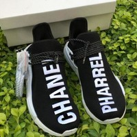 ADIDAS X CHANEL Popular Women Men Sneakers Running Sports Shoes I